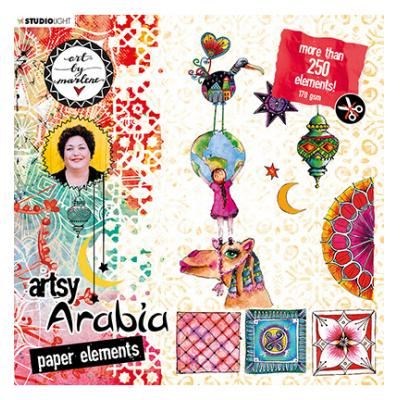 StudioLight Artsy Arabia By Marlene Die Cut Block - Nr. 02