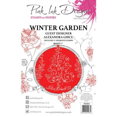 Creative Expressions Clear Stamps - Winter Garden