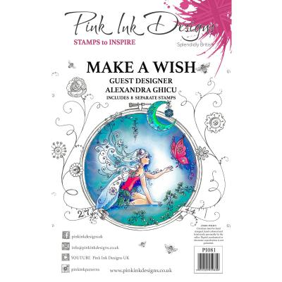 Creative Expressions Clear Stamps - Make A Wish