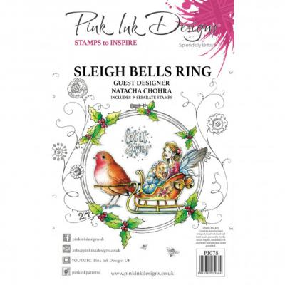 Creative Expressions Clear Stamps - Sleigh Bells