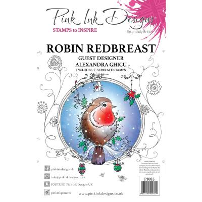 Creative Expressions Clear Stamps - Robin Redbreast