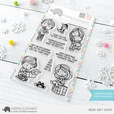 Mama Elephant Clear Stamps - Best Gift Ever