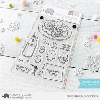 Mama Elephant Clear Stamps - Gingerbread Cookies