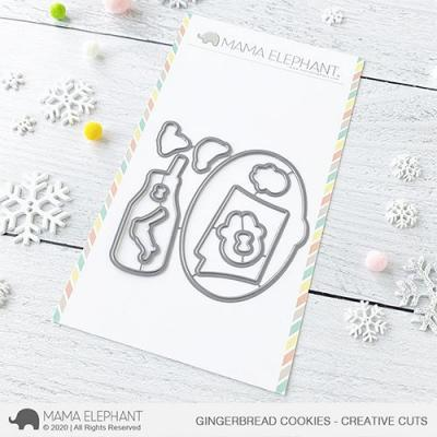 Mama Elephant Creative Cuts - Gingerbread Cookies