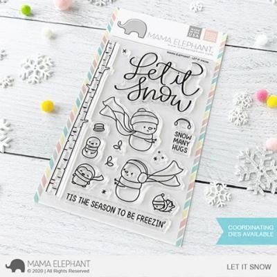 Mama Elephant Clear Stamps - Let It Snow