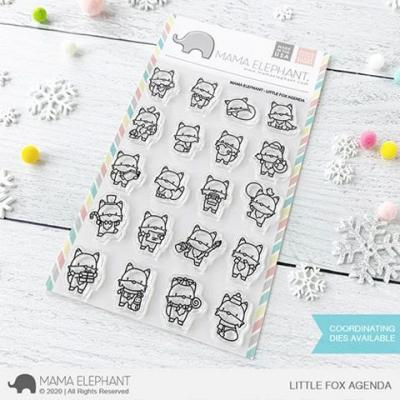 Mama Elephant Clear Stamps - Little Fox Agenda