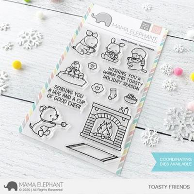 Mama Elephant Clear Stamps - Toasty Friends
