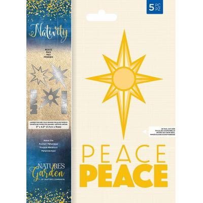 Crafter's Companion Nativity Dies - Peace