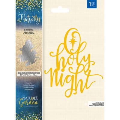 Crafter's Companion Nativity Die - O Holy Night