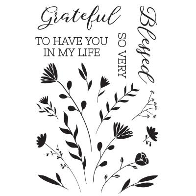 Kaisercraft Clear Stamps - Full Bloom