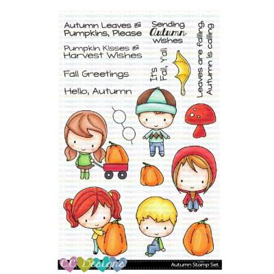 C.C. Designs Clear Stamps - Autumn