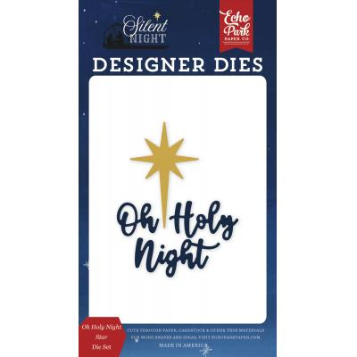 Echo Park Silent Night Die Set - Oh Holy Night Star