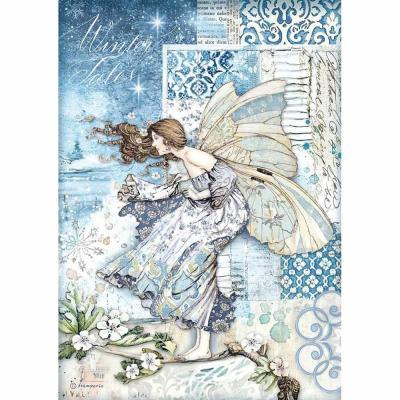 Stamperia Rice Paper - Fairy in the Wind