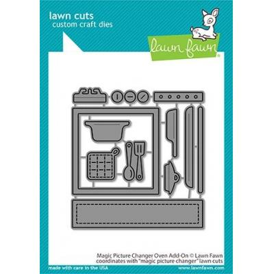 Lawn Fawn Lawn Cuts - Magic Picture Changer Oven Add-On