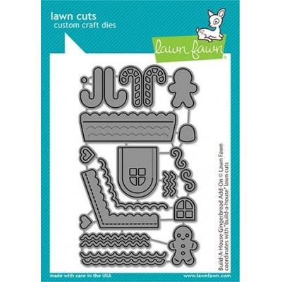 Lawn Fawn Lawn Cuts - Build-A-House Gingerbread Add-On