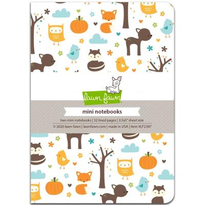 Lawn Fawn Mini Notebooks - Into The Woods Remix