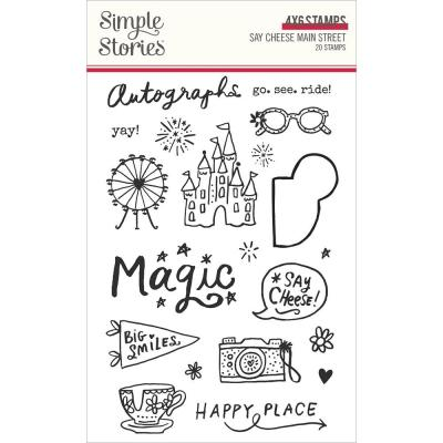 Simple Stories Clear Stamps - Say Cheese Main Street