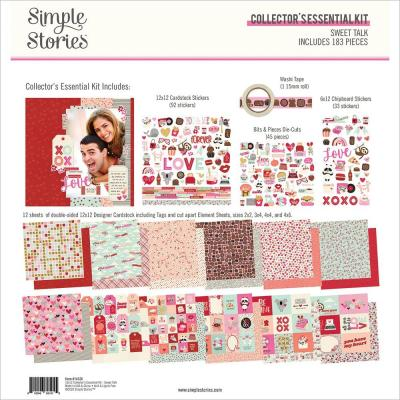 Simple Stories Sweet Talk Designpapier - Collector's Essential Kit