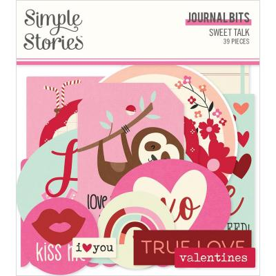 Simple Stories Sweet Talk Die Cuts - Bits & Pieces