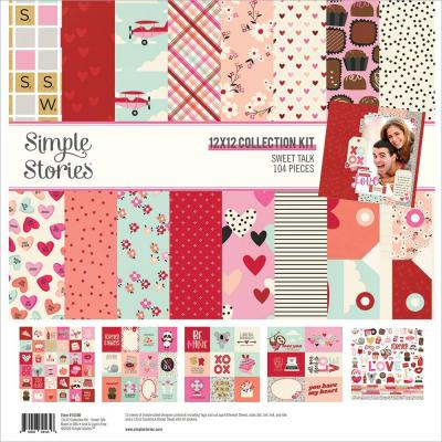 Simple Stories Sweet Talk Designpapier - Collection Kit