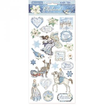 Stamperia Chipboard - Winter Tales