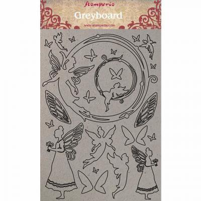 Stamperia Greyboard - Fairies
