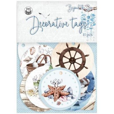 Piatek13 Beyond the Sea Die Cuts - Tag Set
