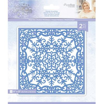 Crafter's Companion Glittering Snowflakes Dies - Grande Snowflake