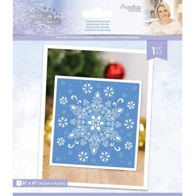 Crafter's Companion Glittering Snowflakes Die - Frosted Dimension