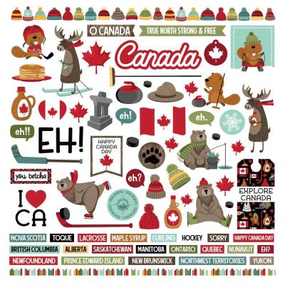 PhotoPlay O Canada 2 Sticker - Elements