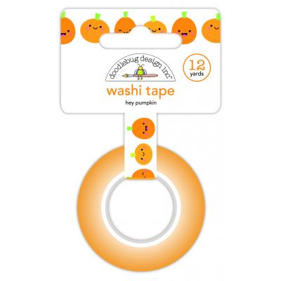 Doodlebug Ghost Town Washi Tape - Hey Pumpkin