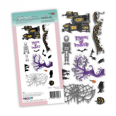 Polkadoodles Clear Stamps - Spooky Time