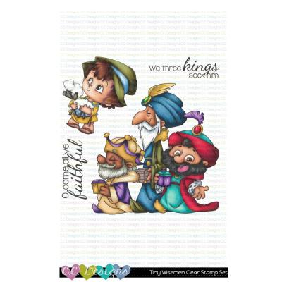 C.C. Designs Clear Stamps - Tiny Wisemen