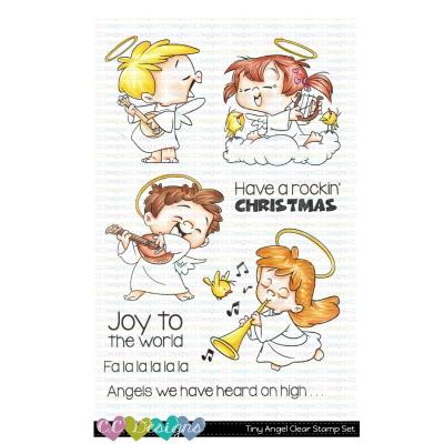 C.C. Designs Clear Stamps - Tiny Angels