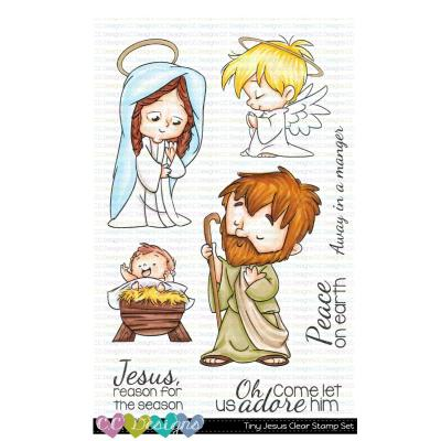 C.C. Designs Clear Stamps - Tiny Jesus