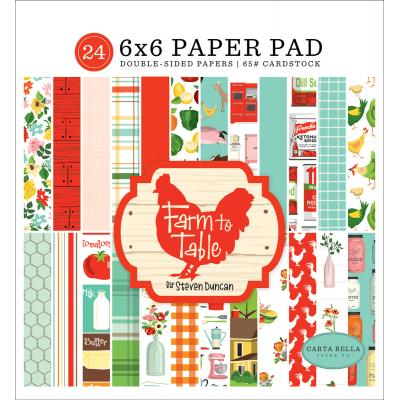 Carta Bella Farm To Table Designpapier  - Paper Pad