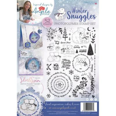 Angela Poole Clear Stamps - Winter Snuggles
