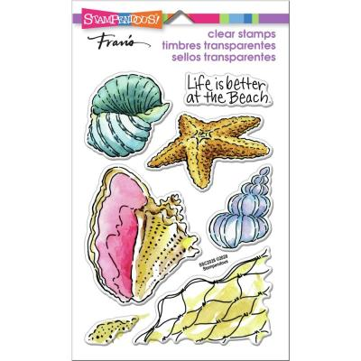 Stampendous Perfectly Clear Stamps - Shell Beach
