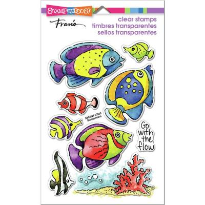 Stampendous Perfectly Clear Stamps - Go Fish
