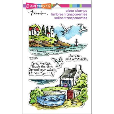 Stampendous Perfectly Clear Stamps - Lighthouse Cottage