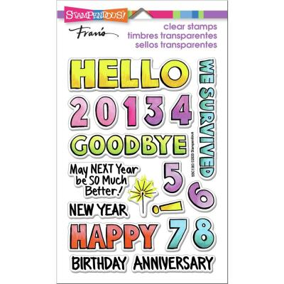 Stampendous Perfectly Clear Stamps - Hello 2021