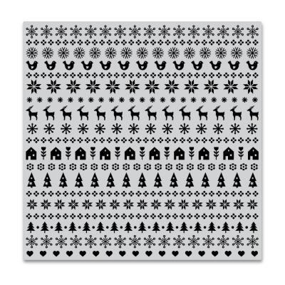 Hero Arts Cling Stamp - Holiday Graphic Bold Prints