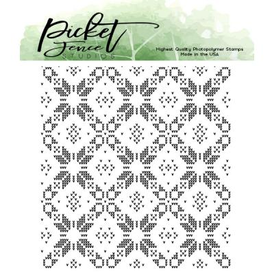 Picket Fence Studios Clear Stamp - Sweater Pattern Maker