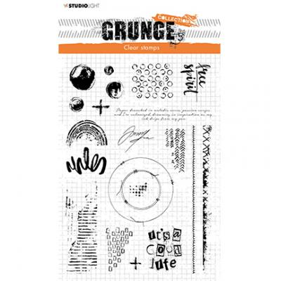 StudioLight Grunge Collection Clear Stamps - Nr. 503