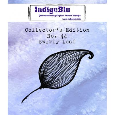 IndigoBlu Rubber Stamp - Leaf