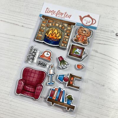 Time For Tea Clear Stamps - Home Sweet Home