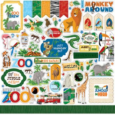 Carta Bella Zoo Adventure - Element Sticker