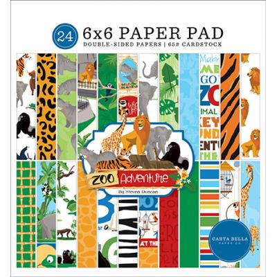 Carta Bella Zoo Adventure Designpapier - Paper Pad