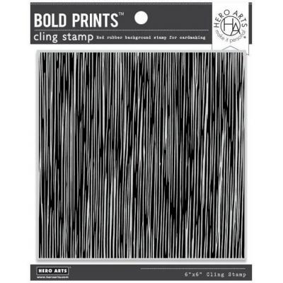 Hero Arts Cling Stamp - Abstract Linocut Bold Prints
