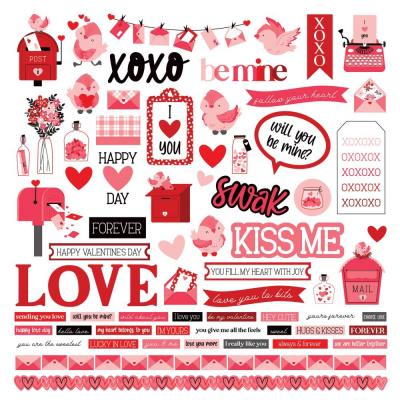 PhotoPlay Love Letters Sticker - Elements